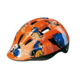CASCO GES KID JUNGLE NARANJA