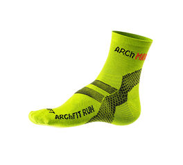 Max Yellow Fluor Arch Socks Size M