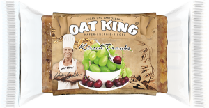 Barrita Oat King Cerezas y Uva