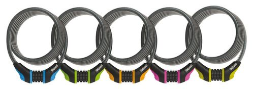Anti-theft Spiral Cable Combo Onguard 180cm, Ø 12mm