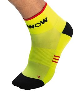 Calcetines Wowow reflectantes amarillo