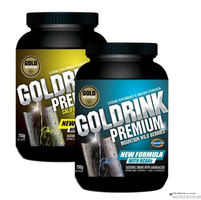Gold Drink PREMIUM + BCAA Gold Nutrition