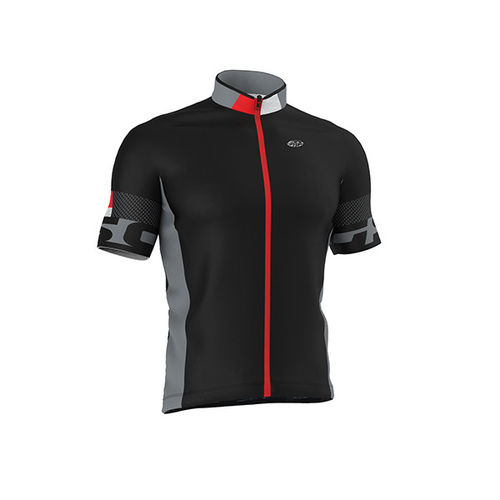 Maillot GSG Rolle Negro-Rojo S