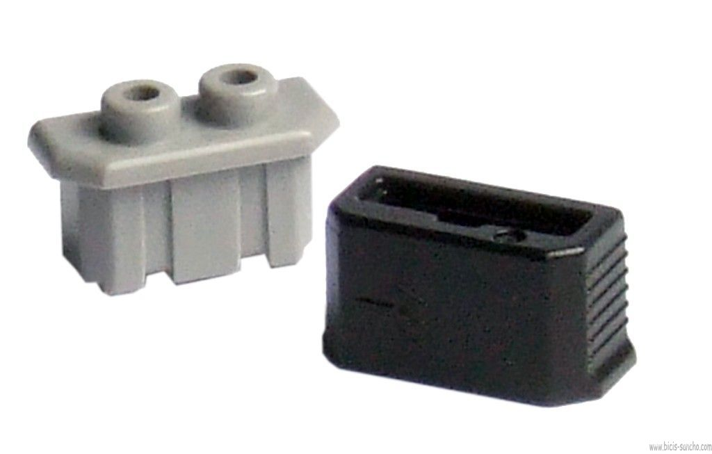 pole and protection cap, gray / black for HB-axis dynamo NX30D