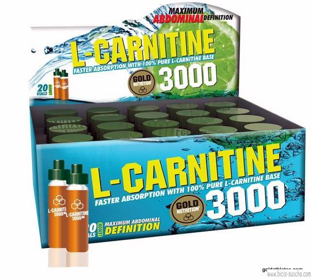 L-CARNITINA 3000 mg Gold Nutrition