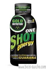 VIAL Shot One Energy 200 Gold Nutrition 1 UNIDAD