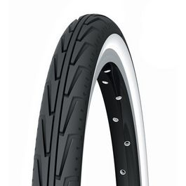 Cubierta  Michelin 500 X A City Junior Blanco/Negro
