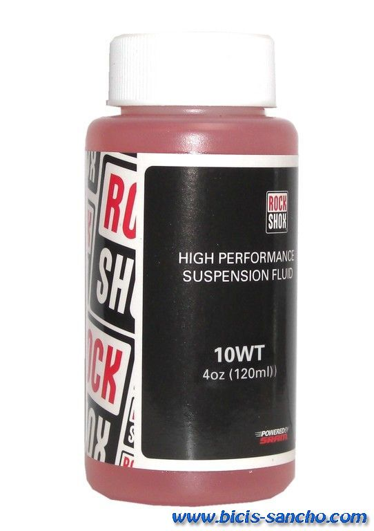 Aceite suspensión 10WT Rock Shox120 ml.