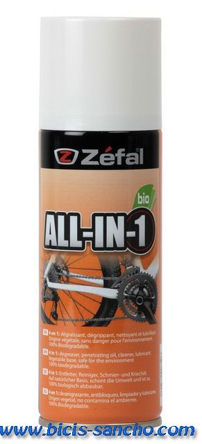 Spray All-In-One Zefal 150 ml.